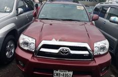 Foreign Used Toyota 4-Runner 2008 Model Red
