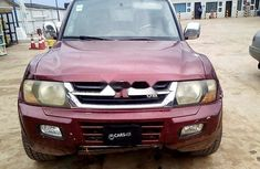 Nigeria Used Mitsubishi Montero 2001 Model Red