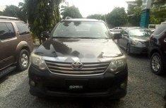Nigeria Used Toyota Fortuner 2015 Model Black