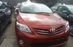 Well Maintained Nigerian used Toyota Corolla 2013