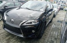 Foreign Used Lexus RX 2015 Model Black