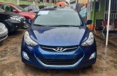 Nigeria Used Hyundai Elantra 2012 Model Blue