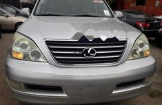 Foreign Used Lexus GX 2007 Model Silver