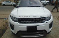 Nigeria Used Land Rover Range Rover Evoque 2016 Model White