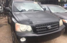 Foreign Used Toyota Highlander 2003 Model Black