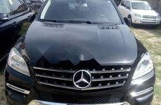 Foreign Used Mercedes-Benz ML350 2015 Model Black