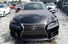 Foreign Used Lexus IS 2015 Model Black