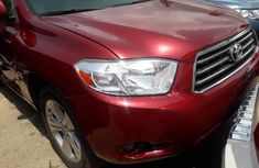 Foreign Used 2009 Toyota Highlander for sale