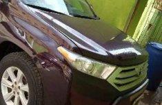 Nigeria Used Toyota Highlander 2013 Model Brown
