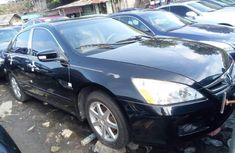 Foreign Used Honda Accord 2006 Model Black