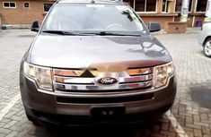 Nigeria Used Ford Edge 2009 Model Grey
