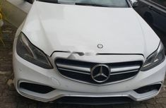 Nigeria Used Mercedes-Benz E63 2016 Model White
