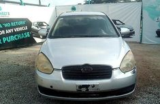 Nigeria Used Hyundai Accent 2006 Model Silver