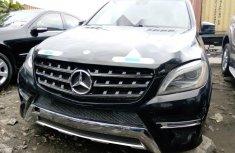 Tokunbo Mercedes-Benz ML 2012 Model Black