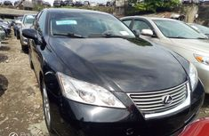 Tokunbo Lexus ES 2008 Model Black