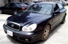 Nigeria Used Hyundai Sonata 2003 Model Black