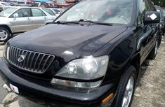 Foreign Used Lexus RX 2000 Model Black