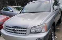 Tokunbo Toyota Highlander 2003 Model Grey
