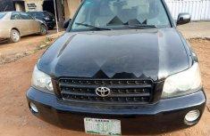 Nigeria Used Toyota Highlander 2006 Model Black