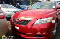 Tokunbo Toyota Camry 2008 Model Red