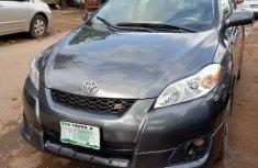 Nigerian Used 2009 Toyota Matrix Petrol