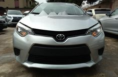 Foreign Used 2015 Toyota Corolla Automatic