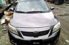 Nigeria Used Toyota Corolla 2009 Model Grey