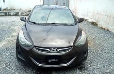 Nigeria Used Hyundai Elantra 2012 Model Brown