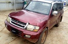 Nigerian Used 2001 Mitsubishi Montero for sale