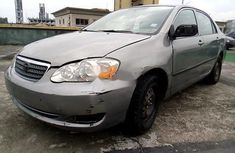 Nigeria Used Toyota Corolla 2003 Model Grey