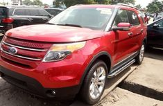 Tokunbo Ford Explorer 2012 Model Red