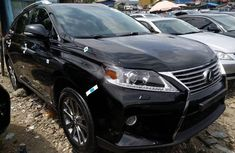 Foreign Used Lexus RX 2012 Model Black