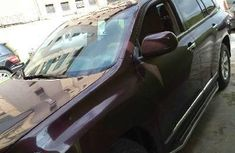 Nigeria Used Toyota Highlander 2013 Model Brown