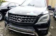 Tokunbo Mercedes-Benz ML 2013 Model Black