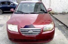 Nigeria Used Hyundai Elantra 2007 Model Red