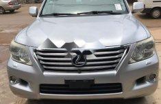 Tokunbo Lexus LX 2009 Model Silver