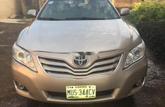 Nigeria Used Toyota Camry 2010 Model Gold