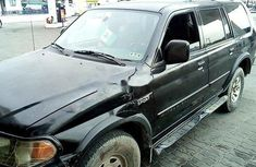 Nigeria Used Mitsubishi Montero 2002 Model Black