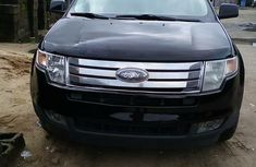 Nigeria Used Ford Edge 2008 Model Black