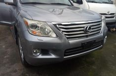 Foreign Used Lexus LX 2011 Model Grey