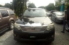 Nigeria Used Toyota Fortuner 2015 Model Black