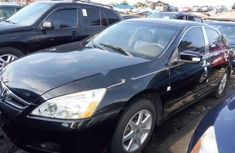 Foreign Used Accord 2006 Model Black