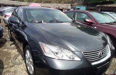 Foreign Used Lexus ES 2008 Model Grey