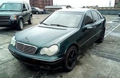 Clean Nigerian used Mercedes-Benz C180 2001