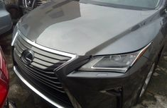 Foreign Used Lexus RX 2016 Model Grey