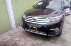 Foreign Used Toyota Highlander 2013 Model