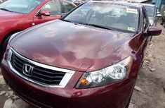 Tokunbo Honda Accord 2009 Model Red