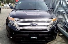 Nigeria Used Ford Explorer 2015 Model Black