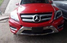 Tokunbo Mercedes-Benz GLK 2013 Model Red