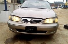 Nigeria Used Mazda 626 1999 Model Gold